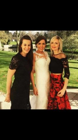 Helen in St Patrick Bridal