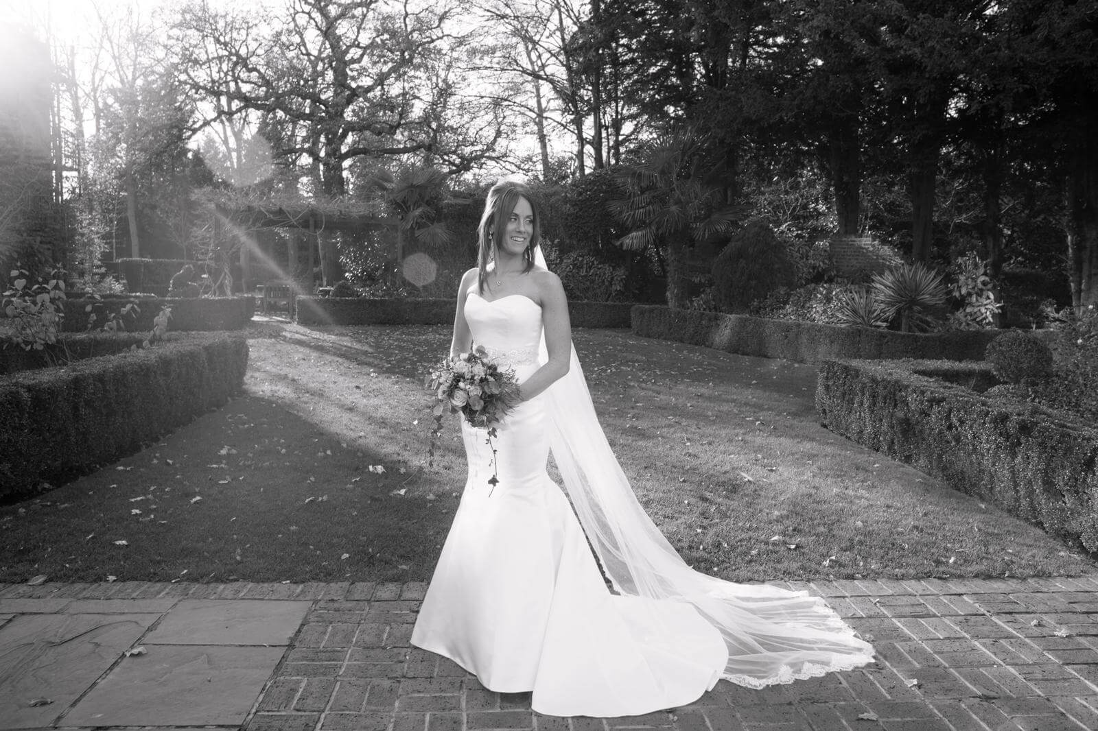 Real Bride Kelly in Badgley Mischka