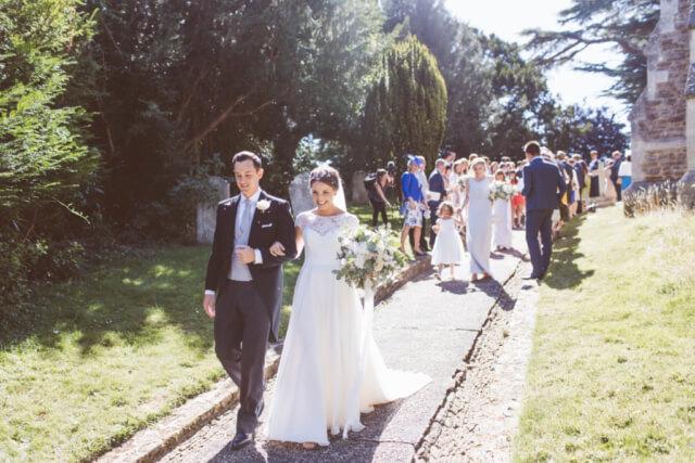 Real Bride Claire in Amanda Wyatt