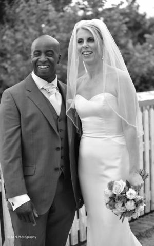 Real Bride Caroline in Enzoani
