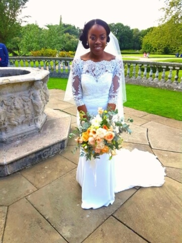 Real Bride Andrea in St Patrick Bridal