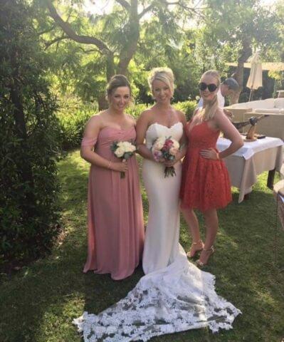 Real Bride Emma in Enzoani