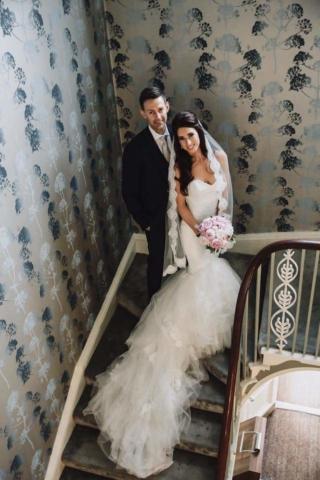 Real Bride Laura in Enzoani