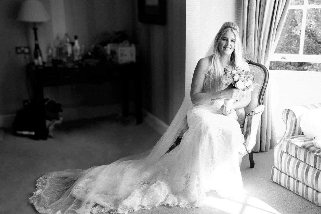 Real Bride Nikki in St Patrick Bridal
