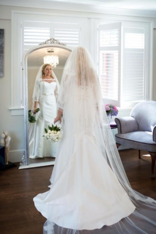 Real Bride Hope in So Sassi by Sassi Holford