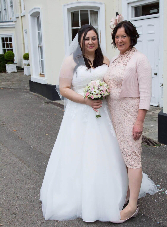 Real Bride Jen in St Patrick Bridal