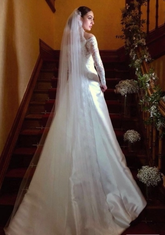 Real Bride Rachele in St Patrick
