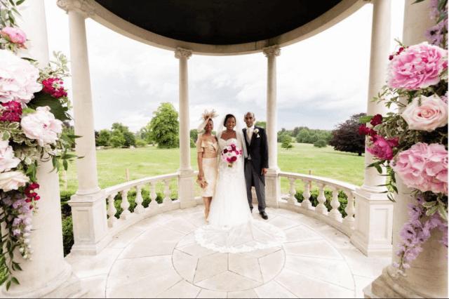 Real bride Charlotte in Enzoani