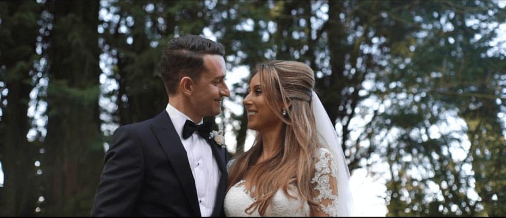 Real bride Katie in Enzoani