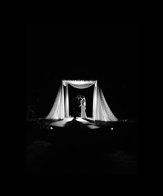 Real bridal Daniella in Amanda Wyatt