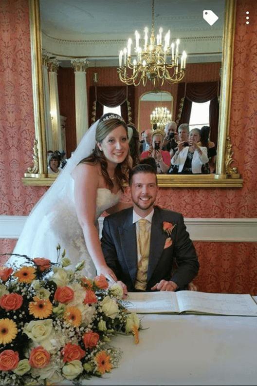 Real bride Lana in St Patrick Bridal