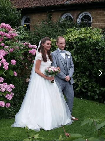 Real bride Natalie in So Sassi