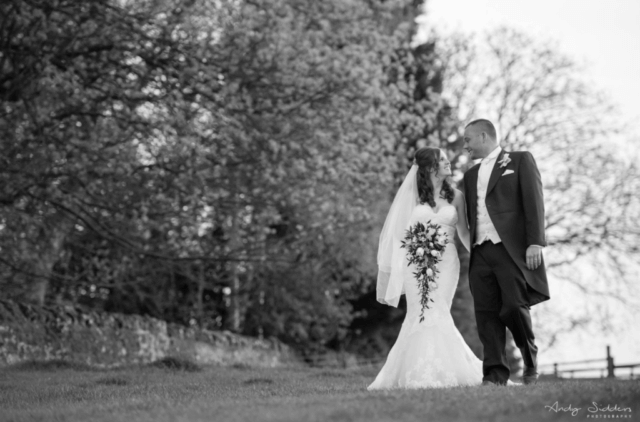 Real bride Clare in Enzoani Jodie