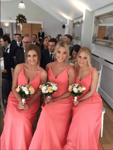 Bridesmaids in Amanda Wyatt