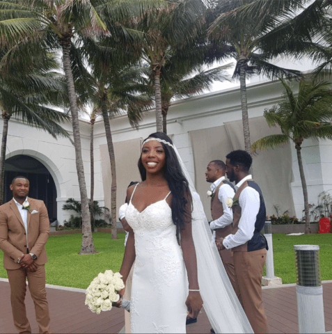 Real bride Staci in St Patrick Bridal
