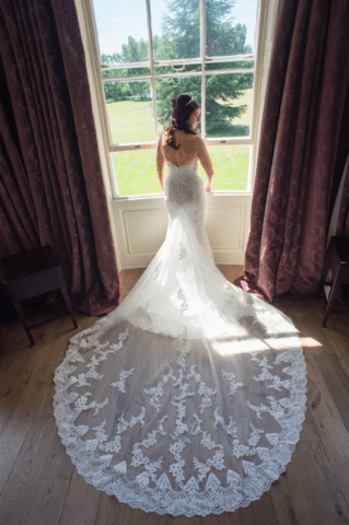 Real Bride Lucy in Enzoani