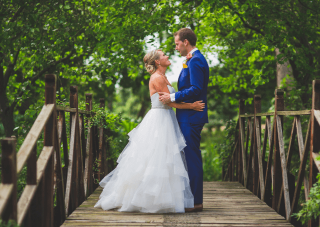 Real Bride Nicola in So Sassi by Sassi Holford