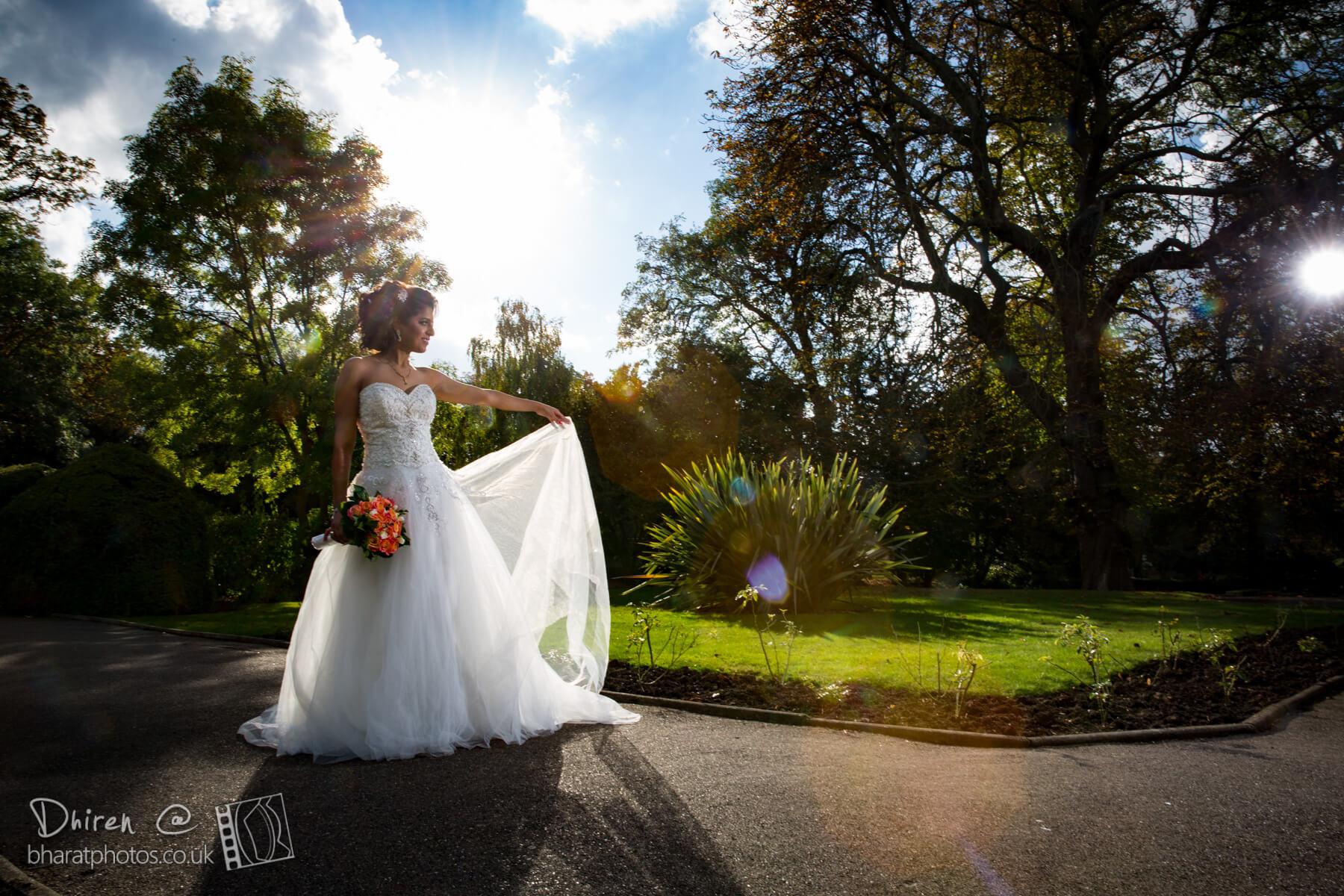 Bride Chandni in Amanda Wyatt