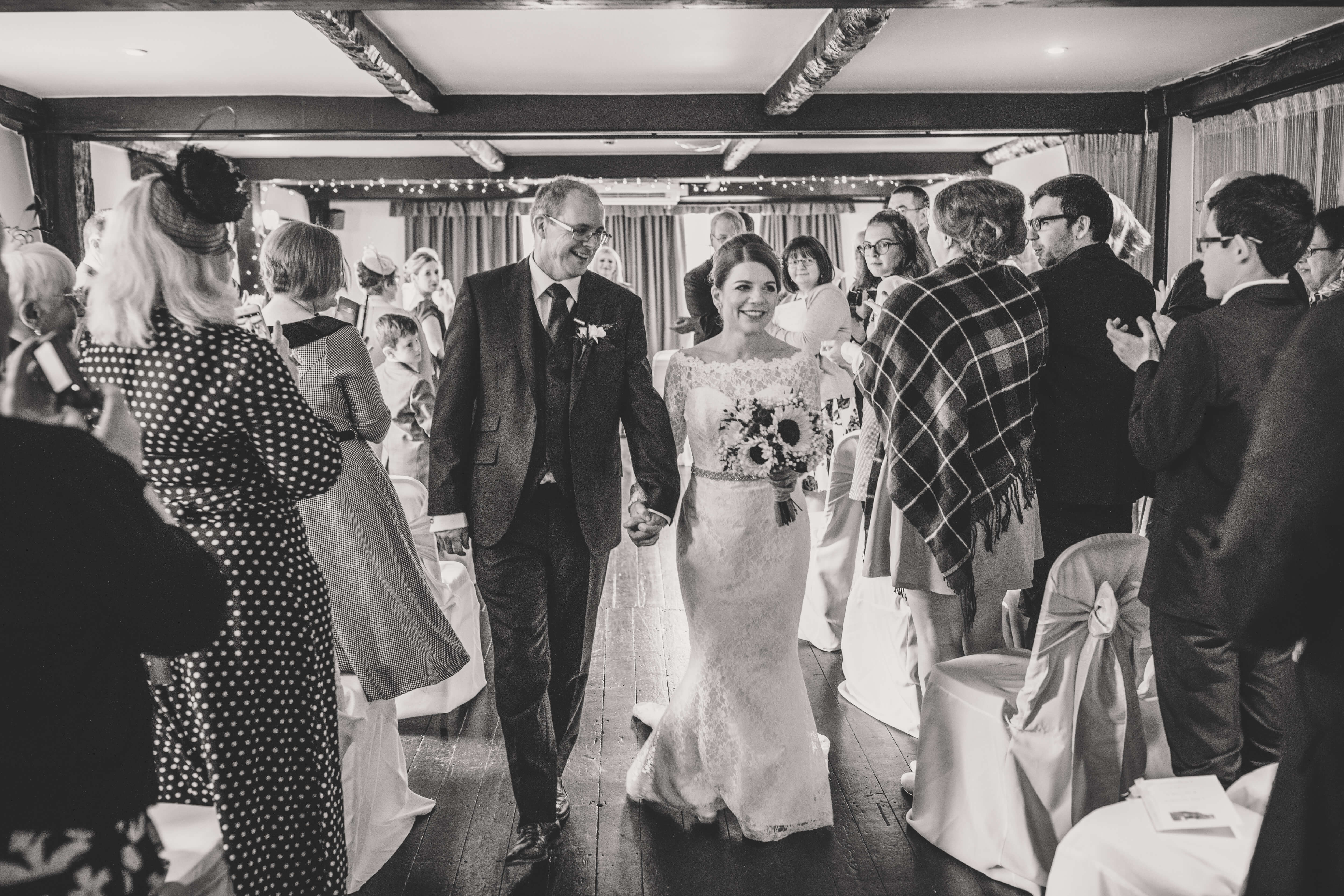 Real Bride Martina in So Sassi by Sassi Holford